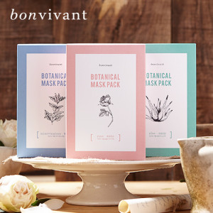 MEMEBOX BONVIVANT Botanical Rose Mask Pack 5ea