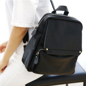 [W] Bella Genuine Leather M1062 Backpack