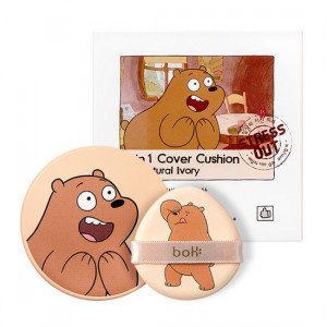 [W] BOTANIC HEAL BOH X We Bare Bears 2-In-1 Cover Cushion{Collaboration event ends}