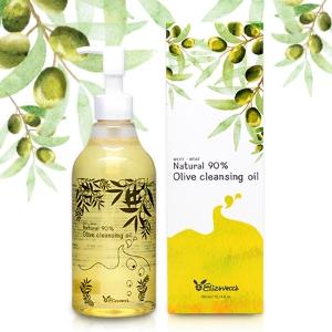 [SALE] ELIZAVECCA Milky Wear Natural 90% Olive Cleansing Oil 300ml