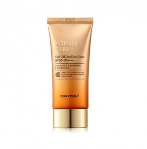 TONYMOLY Intense Care Gold 24K Snail Sun Cream SPF50+ PA++++ 50ml