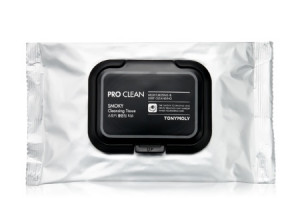 TONYMOLY Pro Clean Smoky Cleansing Tissue 30sheets