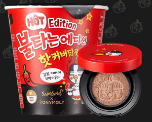 TONYMOLY Hot Edition Hot Cover Chicken Cushion + Refill 10g+5g