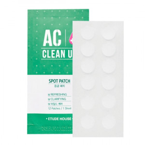 ETUDE HOUSE AC clean Up Spot Patch 12patchs