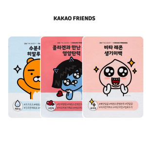 [S] ON THE BODY X KAKAO FRIENDS Mask Pack 25g*1ea