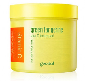 [SALE] GOODAL Green Tangerine Vita C Toner Pad 70sheets