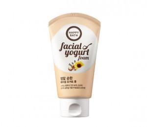 HAPPY BATH Facial Yogurt Mild Foam 120g