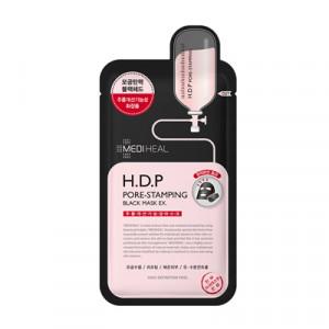[SALE] MEDIHEAL H.D.P Pore-Stamping Black Mask EX 1box (10pcs)