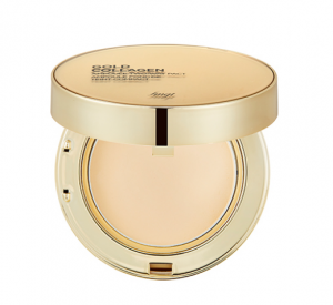 THE FACE SHOP Fmgt Gold Collagen Ampoule Two-Way Pact 10g