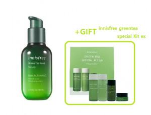 INNISFREE Green Tea Seed Serum 80ml +Gift set