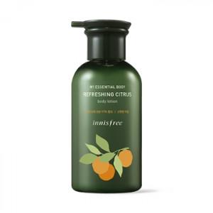INNISFREE my essential body refreshing citrus body lotion 330ml