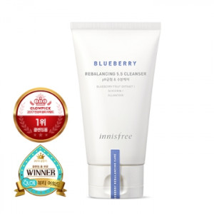 [SALE] INNISFREE Blueberry Rebalancing 5.5 Cleanser 100ml
