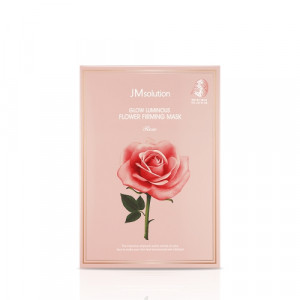 [SALE] JM SOLUTION Glow Luminous Flower Firming Mask Rose 30ml*10ea