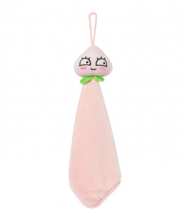 [W] KAKAOFRIENDS Apeach Hand Towel Light Pink 1ea