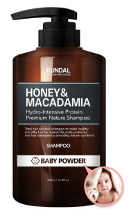 [R] KUNDAL Bebypowder Nature Shampoo 500ml