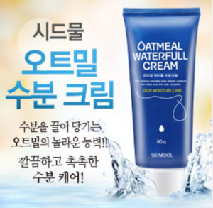[R] SIDMOOL Oatmeal WaterFull  Cream 80g