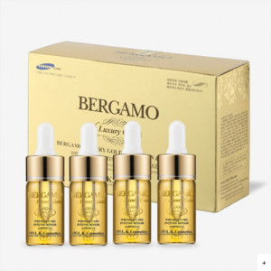 [SALE] BERGAMO Luxury Gold Ampoule Set 13ml*4ea