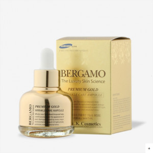 [SALE] BERGAMO Gold Wrinkle Care Ampoule 30ml