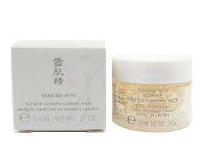 [S] KOSE Sekkisei MYV Actirise Golden Sleeping Mask 5.9ml