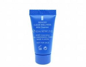 [S] KOSE Sekkisei Clear wellness milk Cleanser 6.2ml