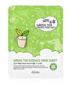 ESFOLIO Green tea essence mask sheet