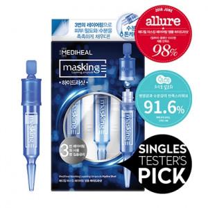 [E] MEDIHEAL Masking Layering Ampoule Shot 4ml*3ea