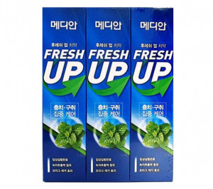 [MEDIAN] Fresh-up toothpaste 120g*3ea