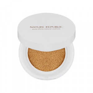 NATURE REPUBLIC Pure Shine Natural Cushion SPF50+ PA+++ 12g