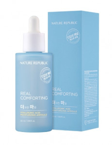 NATURE REPUBLIC Real Comforting Hyaluronic Acid Moisturizing Ampoule 50ml