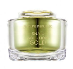 NATURE REPUBLIC Snail Solution Gold Cream 55ml
