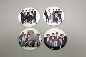 [S] Bangtan Boys - Pin button badge & hand mirror 1ea