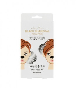 Nesura Pore Deep Charcoal Strip For Nose Care Pack 8pcs