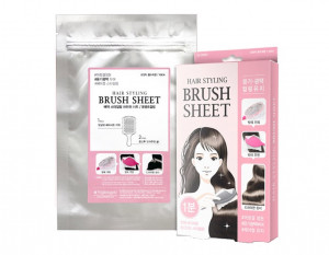 [s] Nightingale Hair styling Brush sheet 30g/10sheet