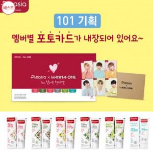 [W] Oliveyoung Pleasia Wanna One101 Set (100g*6)