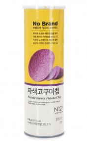 [F] EMART No Brand Purple Sweet Potato Chip 110g