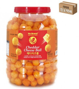 [W] EMART No Brand Cheddar Cheese Ball 370g