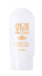 [SALE] SECRETKEY Snow White Milky Lotion (Tone-Up) 120g