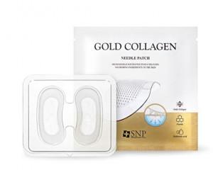 [R] SNP Gold Collagen Needle Patch 1pack (2pcs x 4)