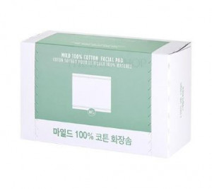 THE FACE SHOP Daily Beauty Tools Mild 100% Cotton Pad 80pcs