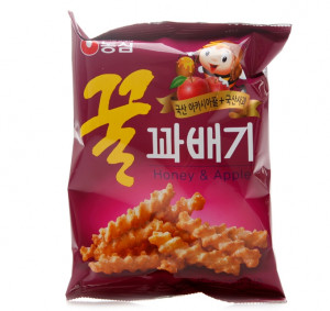 [F] NONGSHIM Honey Flavored Twist Snack 90g