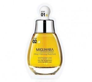 [Online Shop] MIGUHARA 2 Step Whitening Mask Pack _1sheet
