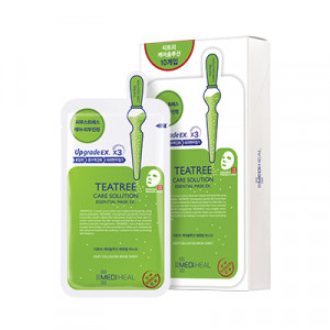 [SALE] MEDIHEAL Tea Tree Healing Solution (care solution) Essential Mask EX 24ml (10pcs/box)