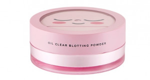 THE FACE SHOP Sweet Apeach Oil Clear Blotting Powder 12g