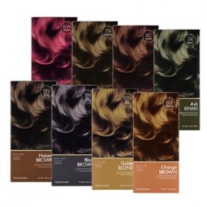 THE FACE SHOP Stylist Sliky Hair Color Cream 130g