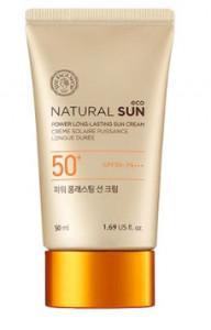 [SALE] THE FACE SHOP Natural Sun Eco Power Long-Lasting Sun Cream SPF50+ PA+++ 50ml