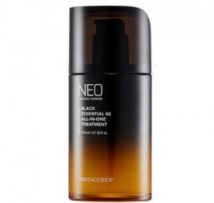 THE FACE SHOP Neo Classic Homme Black Essential 80 All In One Treatment 110ml