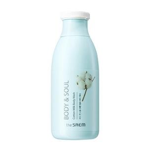 THE SAEM Body & Soul Cotton Milk Body Wash 300ml