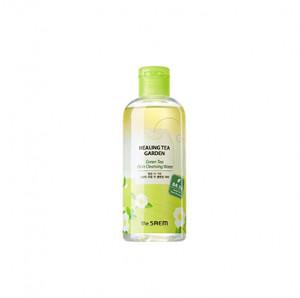 THE SAEM Healing Tea Garden Green Tea Oil In Cleansing water 300ml