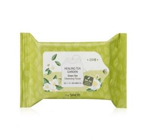 THE SAEM Healing Tea Garden Green Tea Cleansing Tissue 20sheets