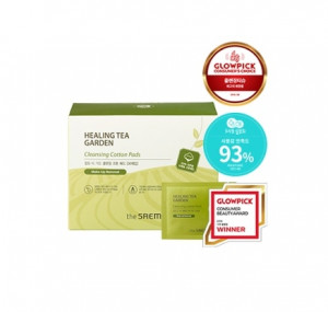 THE SAEM Healing Tea Garden Cleansing Cotton Pads 30ea